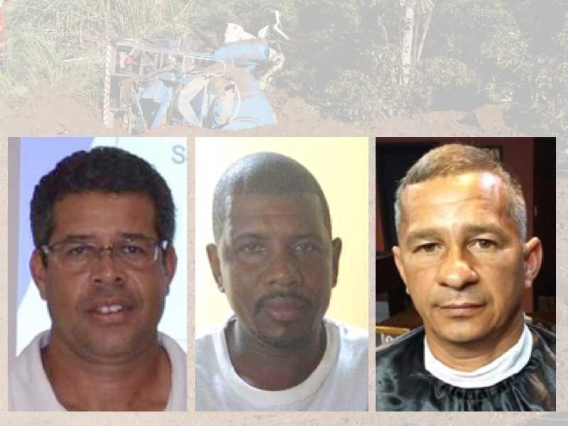 Gustavo João Bernadino, Wellington Azarias (o Buiú) e o Marcelo Damaceno