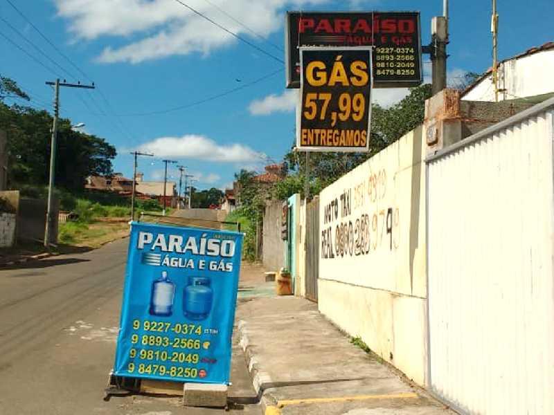 Botijão de gás, 13 quilos por R$ 57,99 no local e para entrega nas proximidades