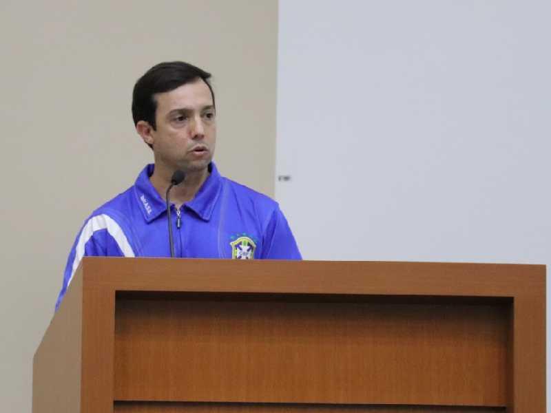 Técnico de esporte da Secretaria Municipal de Esporte e Cultura em São Sebastião do Paraíso, Adalberto Francisco Alves, o Betinho