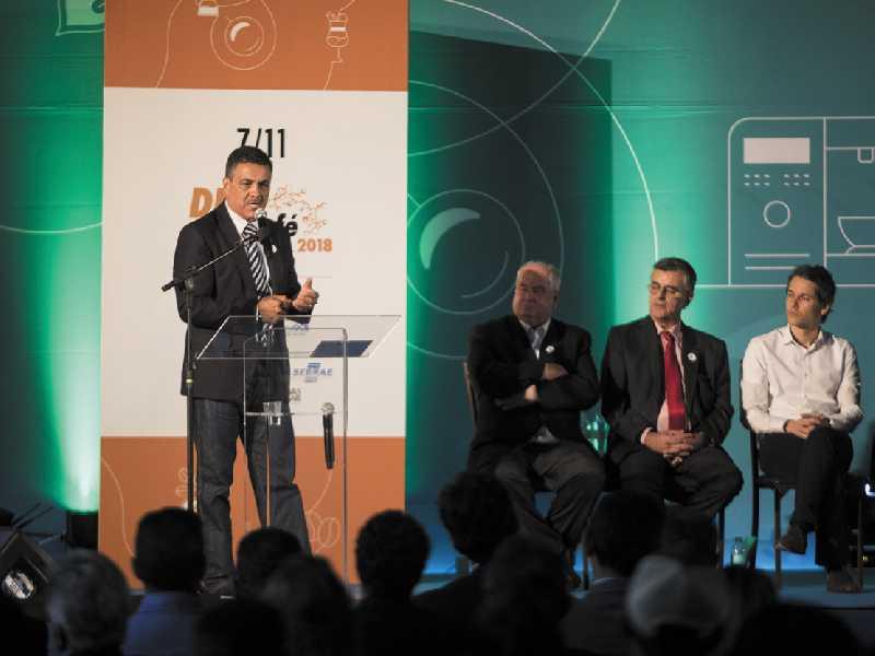 Deputado Emidinho Madeira discursa na abertura da SIC 2018