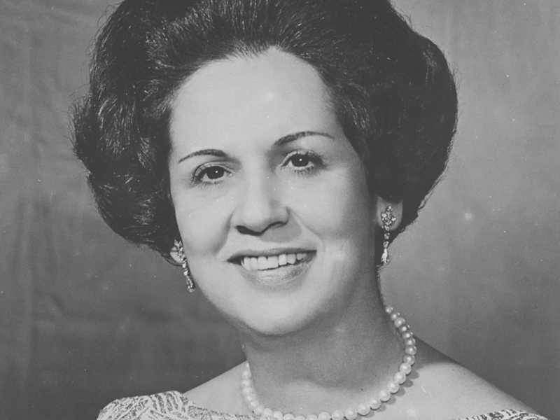 Yolanda Gibson Barbosa da Costa e Silva, primeira-dama do Brasil