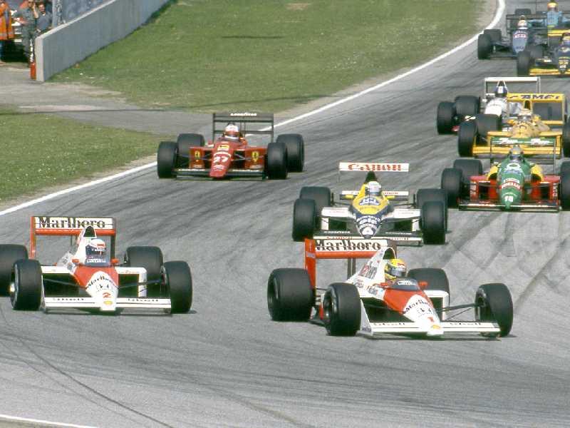 Senna quebra acordo, ultrapassa Prost e rivalidade tornou-se a mais ferrenha já vista na F1