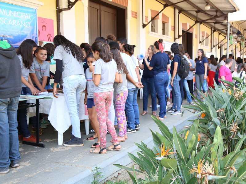Mostra deste ano teve dois dias de apresentações de trabalhos  escolares produzidos por alunos da Rede Municipal de Ensino