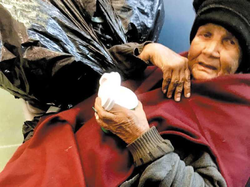 Maria Aparecida está a procura de familiares  paraisenses, foi vista em São Paulo, na rodoviária do Tietê