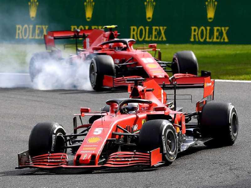 Ferrari chega a Monza 'vermelha', mas de vergonha pelo péssimo desempenho da semana passada