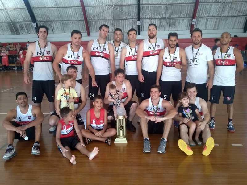 Time atleticano conquistou a Copa Difusão de Basquete