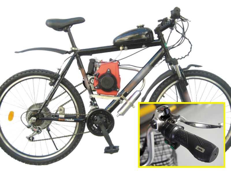 Imagem de um ciclomotor e cicloelétrico;  é necessário emplacamento  e habilitação para sua condução
