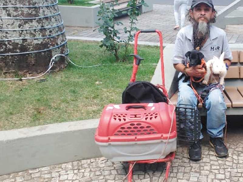 Gerson , um Viajante Ambulante que ama e pede Proteção aos Animais