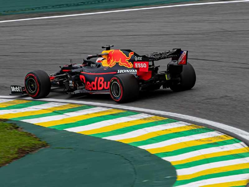 Força do motor Honda surpreendeu com a pole position de Max Verstappen, em Interlagos