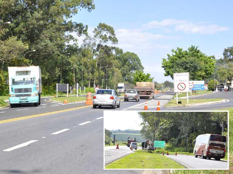Caminhões e ônibus passam direto sem acessar posto de pesagem na MG-050