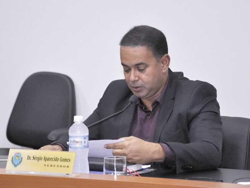 Vereador Sérgio Aparecido Gomes