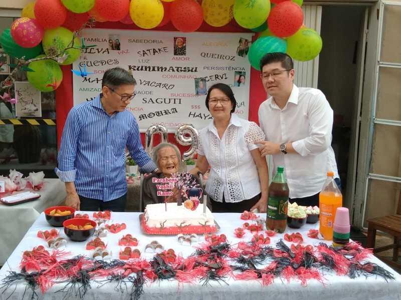 Os 109 anos da senhora Yoshii