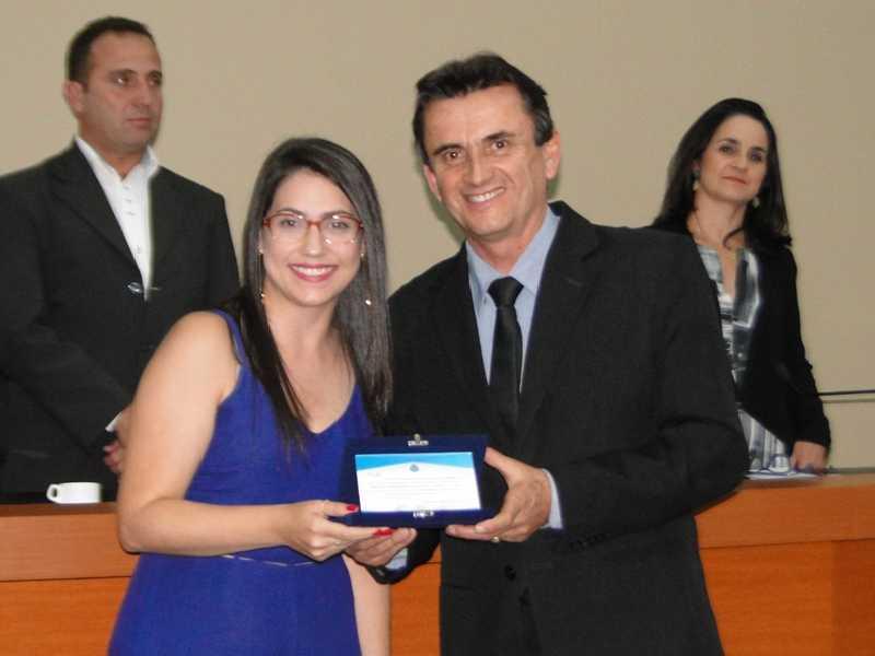 A servidora e presidente na primeira gestão do CMDI, Paula Pimenta