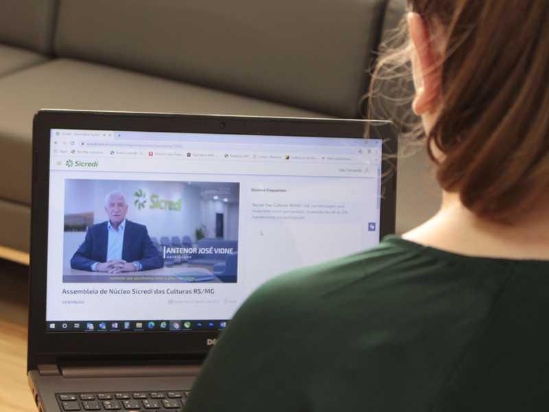 Assembleia de Núcleo 2021 pode ser acessada de forma online por associados da Sicredi