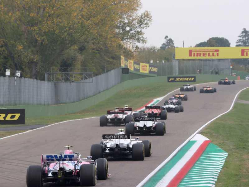 O Circuito de Ímola foi inserido  ao calendário da F1 no ano passado e ganhou nova vaga em 2021
