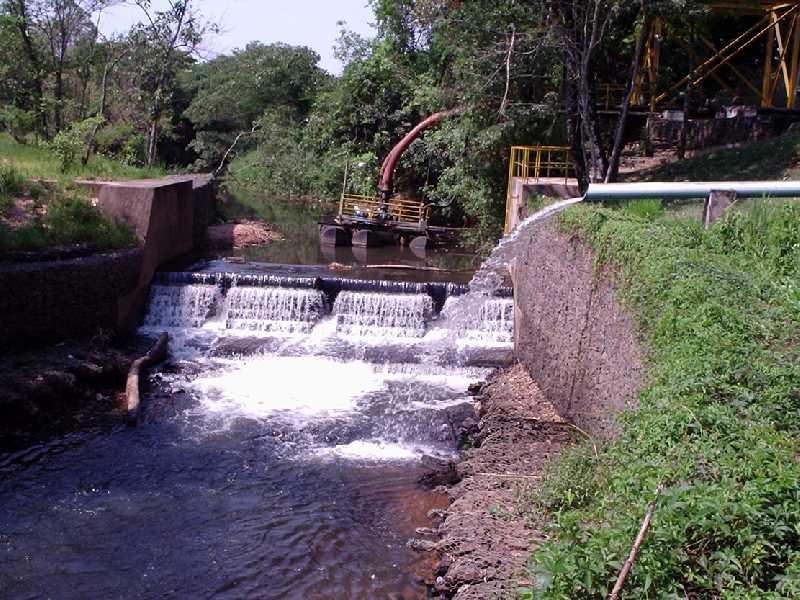 Em virtude da estiagem no município empresa anunciou ter ampliado a captação no córrego Santana, principal fornecedor de água para o abastecimento da cidade