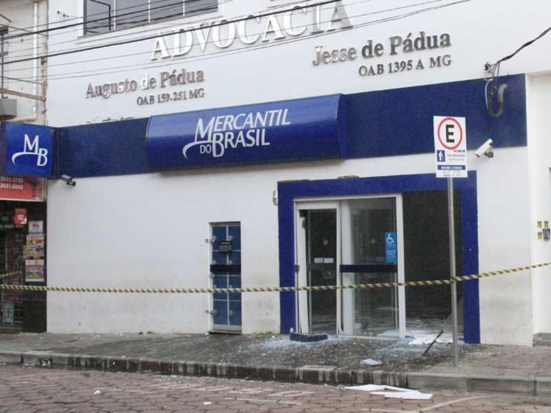 Última ação com explosão de caixa eletrônico em  banco da cidade ocorreu há quase dois anos em Paraíso