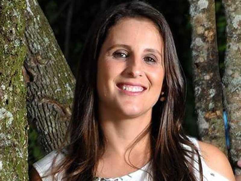 Mariana Nascimento é coordenadora de esporte no Ouro Verde Tênis Clube e também professora de educação física na rede estadual de ensino