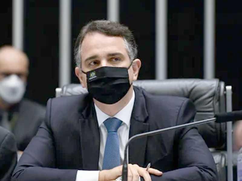 Presidente do Congresso Nacional, Rodrigo Pacheco (Democratas-MG)
