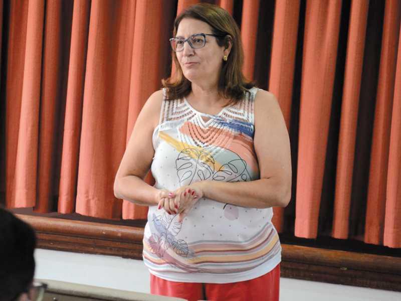 Secretária de Saúde, Adelma Lúcia da Silva