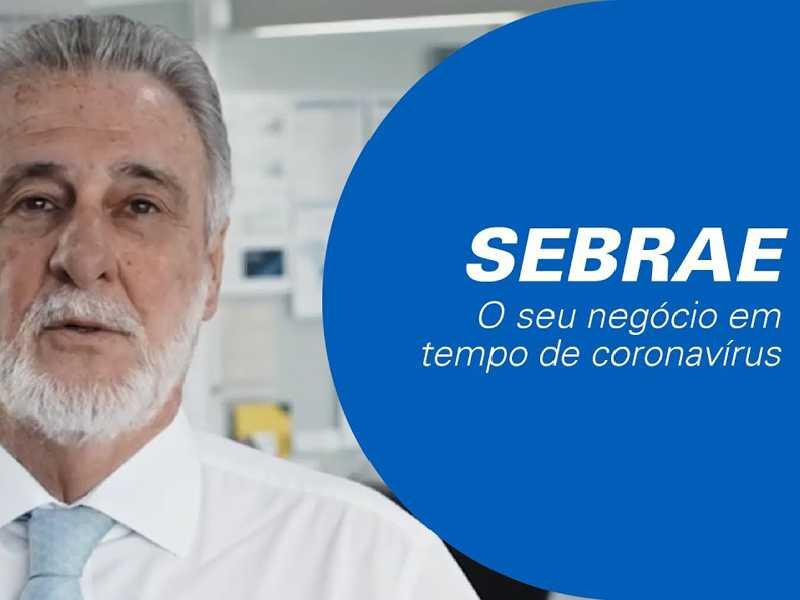 Presidente do Sebrae fala das medidas e opções para a manutenção das atividades de quem trabalha com pequenos negócios