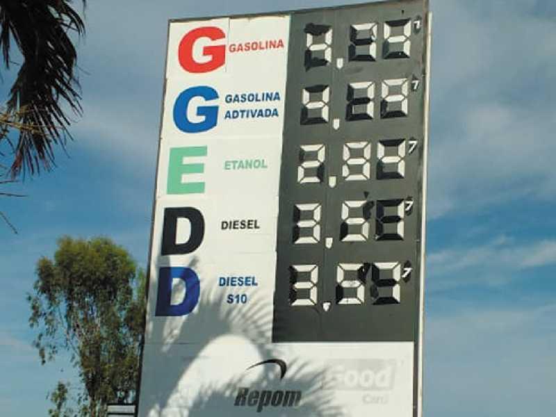 No Posto Paraíso que fica localizado às margens da BR 491 próximo ao parque Belvedere onde vende o litro da Gasolina e Etanol mais barato em Paraíso