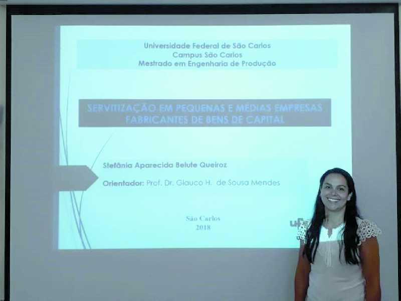 Professora da Libertas Faculdades Integras, Stefânia Belute