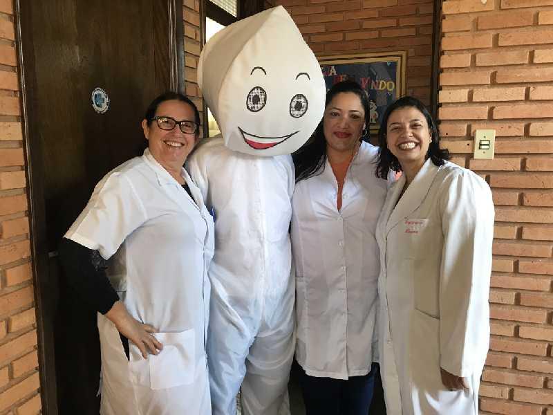 Vacinadoras Marlete, Carina e Dayana