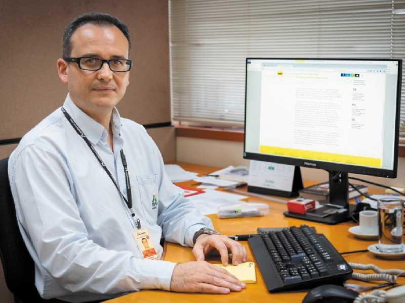 Rodrigo Gonçalves Pimenta nascido em Paraíso está na empresa há quase 20 anos