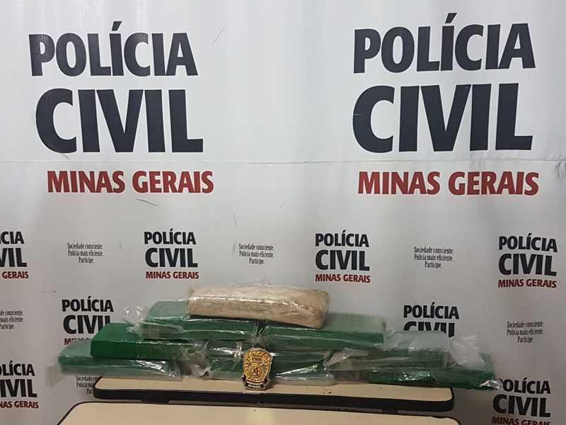 Suspeito foi abordado enquanto transporta 8 quilos de maconha de Ribeirão a Paraíso