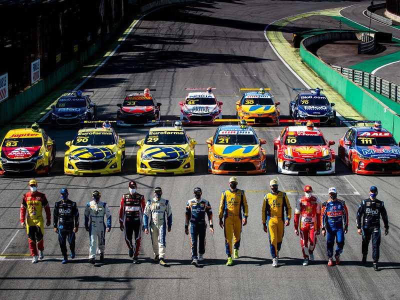 Onze pilotos com chances de título no encerramento da temporada da Stock Car, em Interlagos