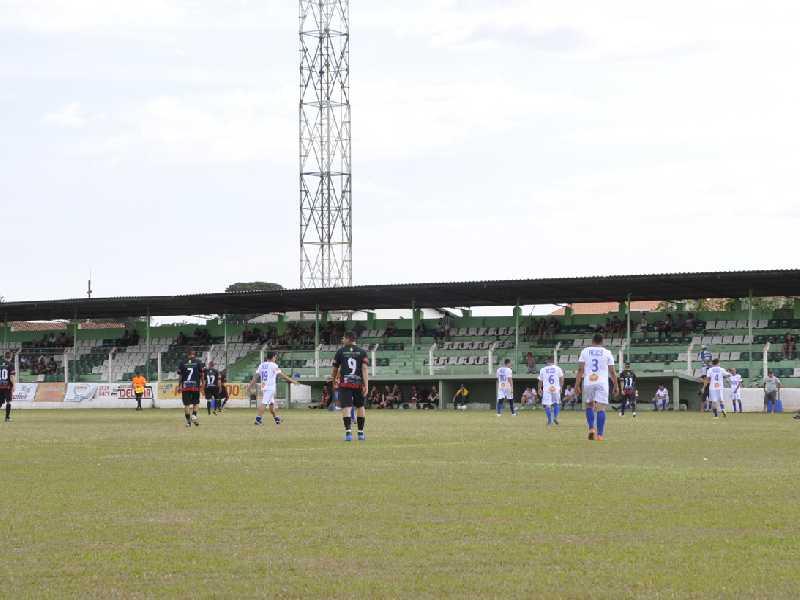 Estádio Comendador João Alves que semana passada abrigou partida do Juventude recebe Paraisense e Oriente neste sábado