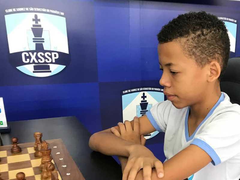 Brenno David Pereira Paschoa venceu a Categoria  Sub12 da Final do Circuito Regional de Xadrez 2019