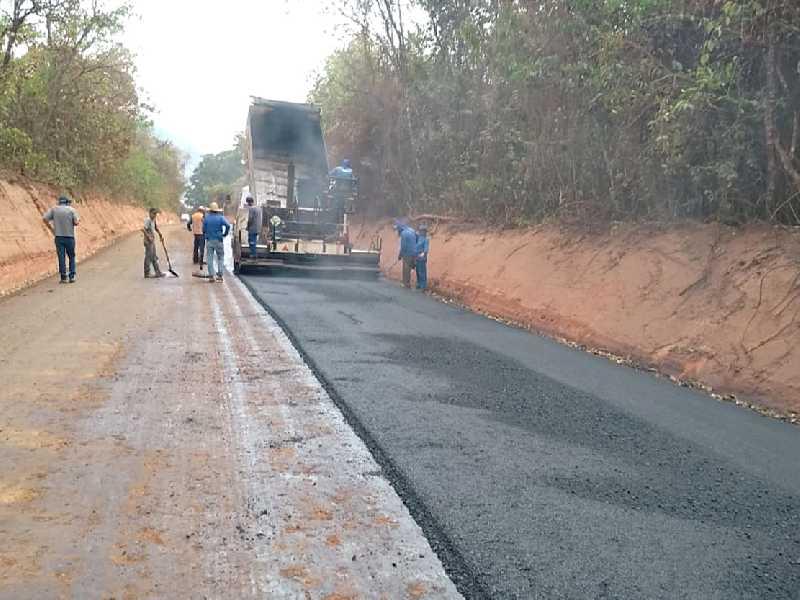 Projeto que abre crédito suplementar adicional de R$ 500 para asfalto da Guadinha, deu entrada na sessão do dia 24 de agosto