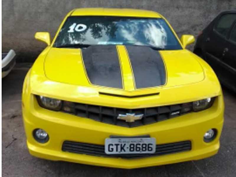 Camaro Amarelo em leilão