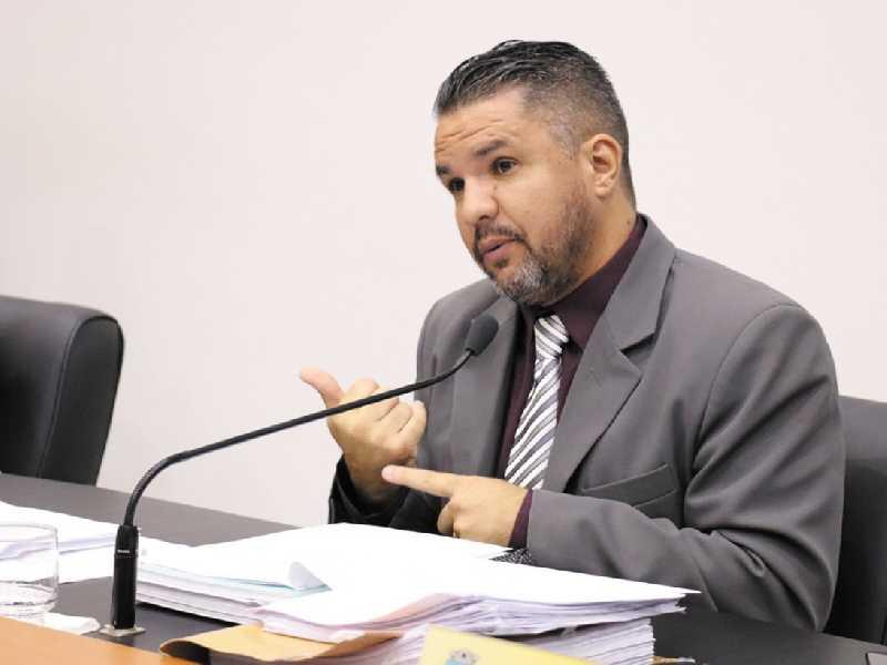 O vereador Marcelo de Morais foi o autor do projeto