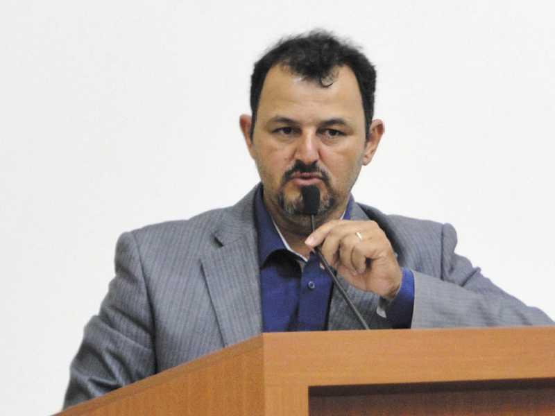 O vereador José Luiz das Graças