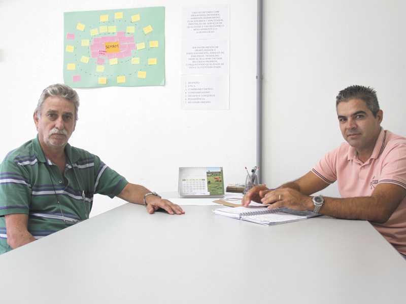 João Bosco Minto e Marco Aurélio Alves de Paula