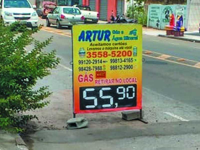 Para o bem dos consumidores Paraisenses , está crescendo a quantidade de Revendedores que expõe Visivelmente o preço mais em conta do Gás de Cozinha
