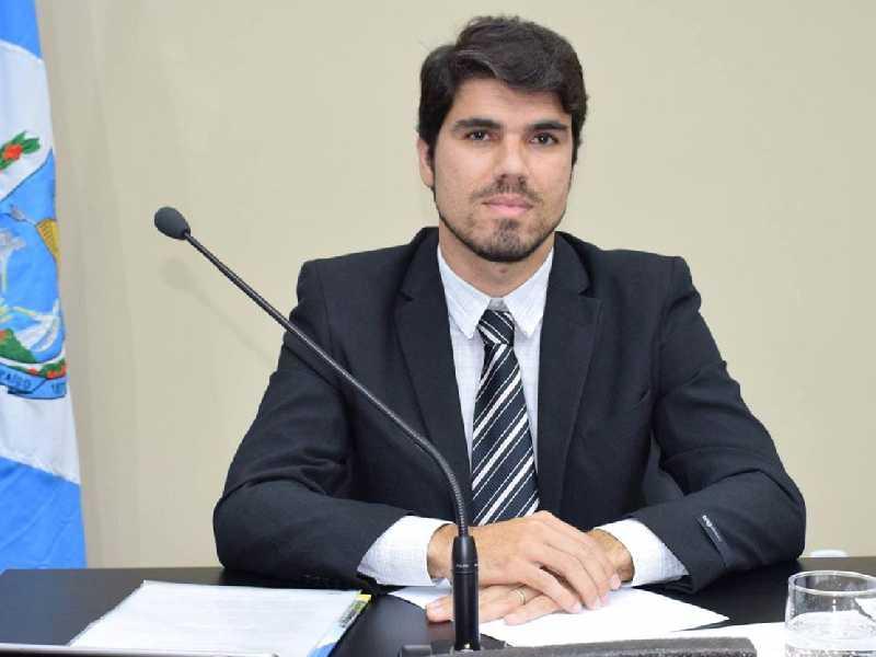 O vereador Vinício Scarano Pedroso muda de idade no dia 5.