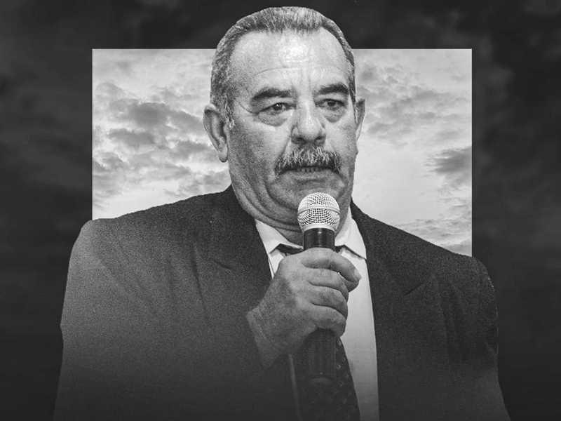 Sitiante Gilmar Pedro Luz, 60 anos