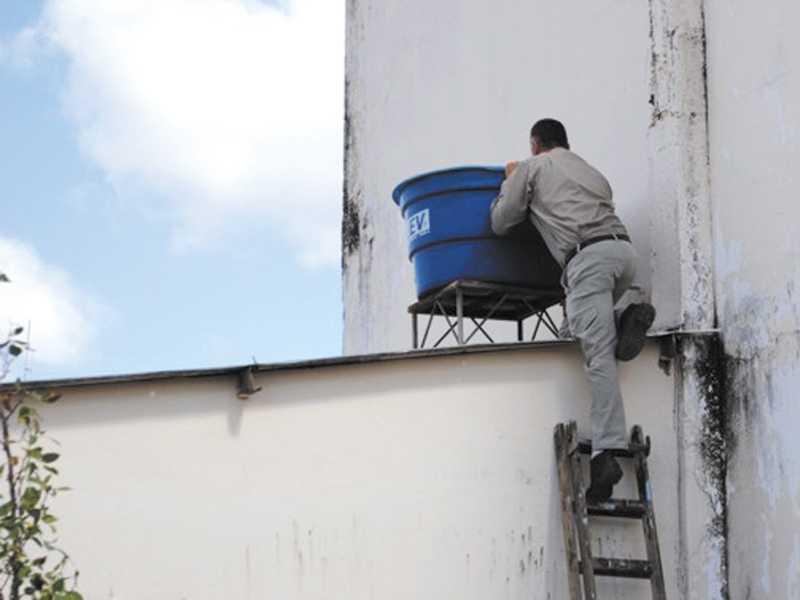 Paraíso intensifica controle aos focos de criação do mosquito da dengue