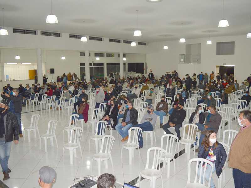 Sindicato Rural de Itamogi reuniu cafeicultores na Expoita para debater soluções para o setor