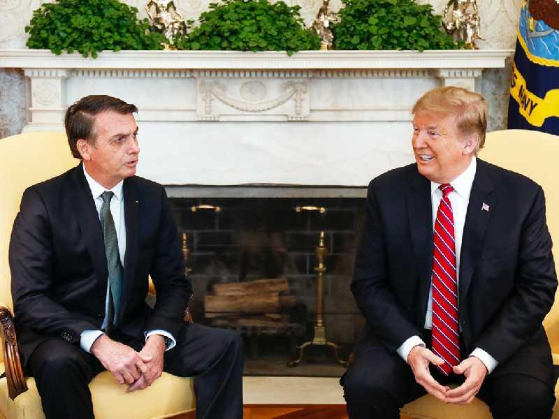 Bolsanaro e Trump