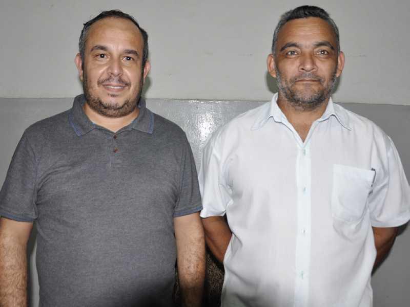 Sindicalistas Cícero Barbosa e Izidio dos Santos ressaltam a importância do debate sobre a situação dos trabalhadores