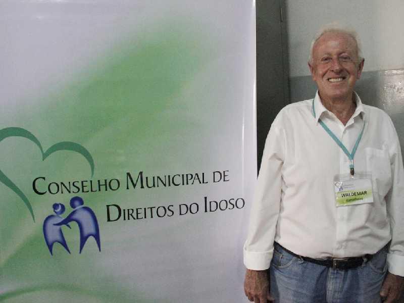 Waldemar Galvão defende mais ações que beneficiam as pessoas idosas