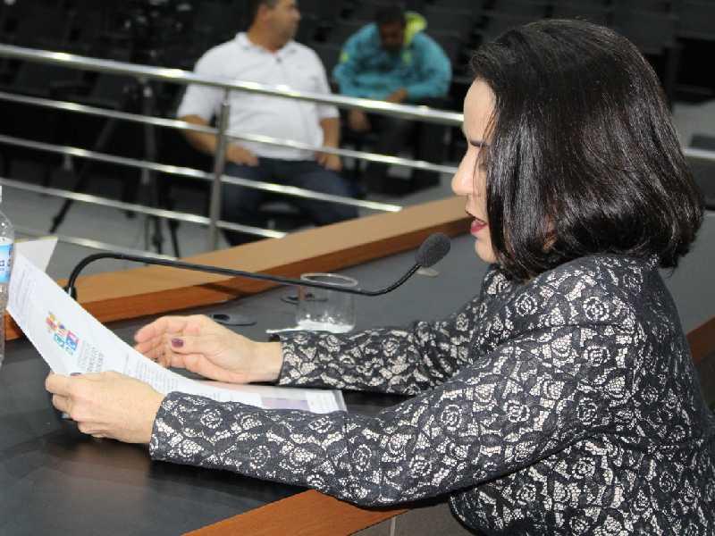 Vereadora chegou a citar municípios que têm este sistema integrado ao portal da transparência, entre eles Limeira (SP) e Uberlândia (MG)