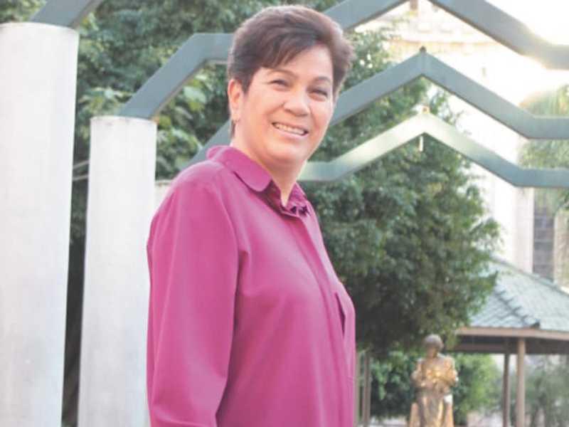 Vice-prefeita Dilma Oliveira