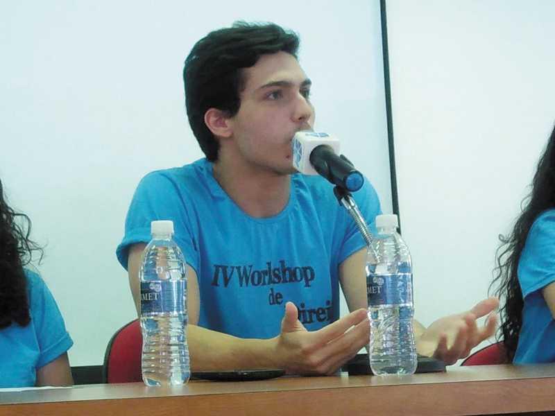 O estudante de Direito da UNESP/Franca, Luiz Henrique Garbellini Filho parte para a Espanha no próximo dia 30 de março