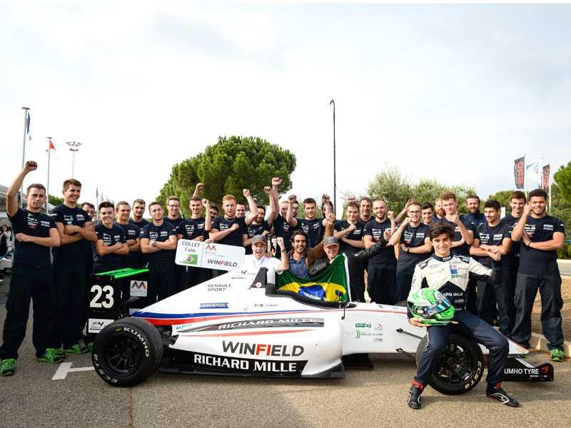 Caio Collet, campeão da F4 Francesa e novo integrante da Academia da Renault